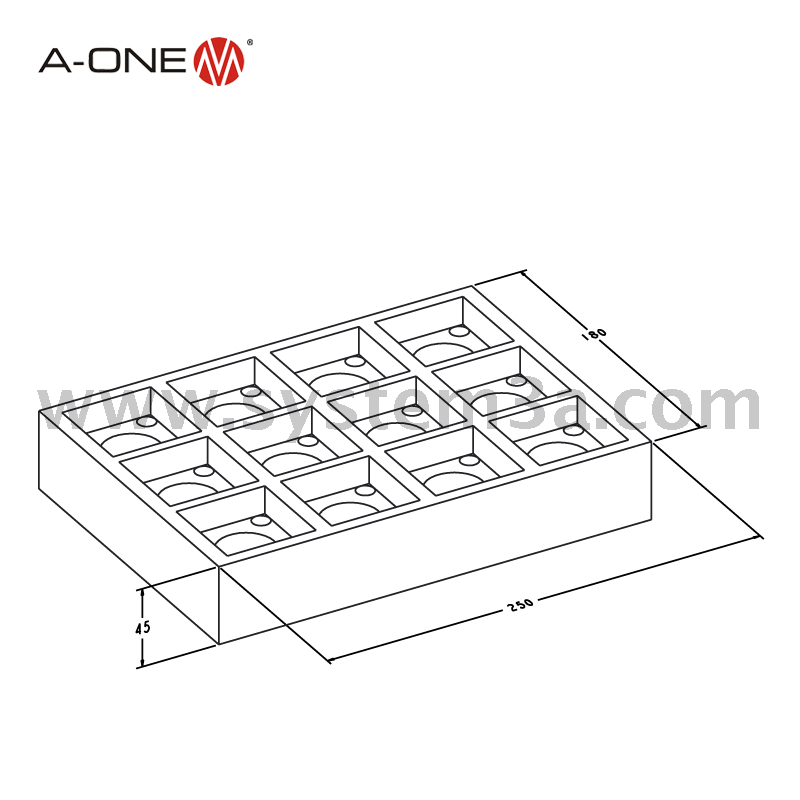 System stand 50 12-fold 3A-400022